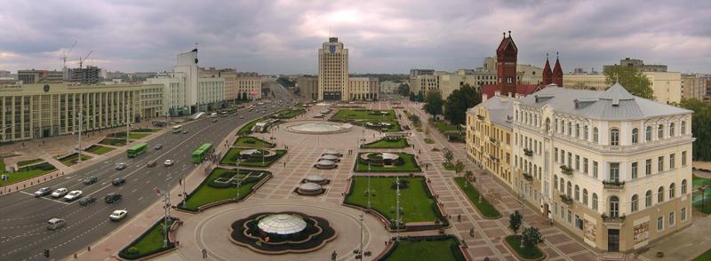 Фото Минска - Площадь Независимости.