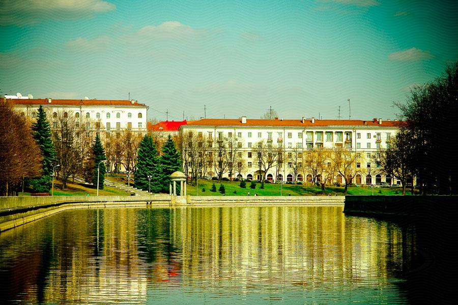 Фото Минска - Набережная реки Свислочи